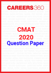CMAT 2020 Official Question Paper