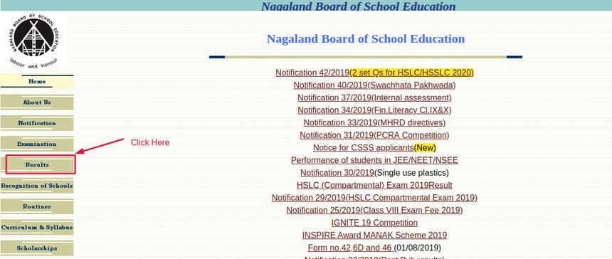NBSE-Website