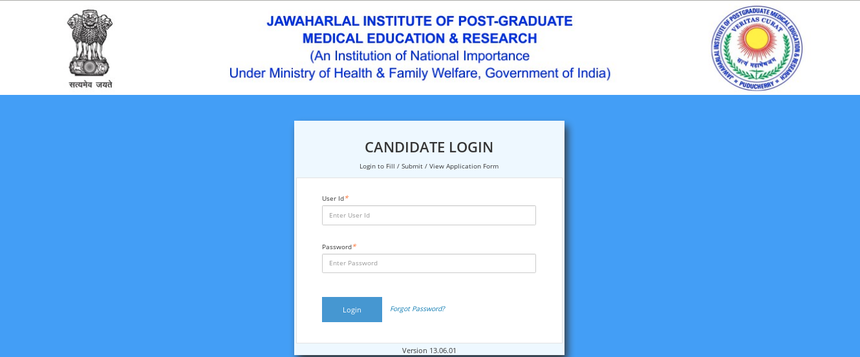 How to fill JIPMER MBBS 2020 Application Form - Step-wise