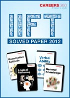 IIFT Solved Paper 2012