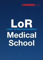 Sample letter of recommendation for medical school