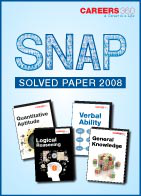 SNAP 2008 Solved Paper