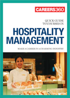 Careers360 Quick Guide to Hospitality Management