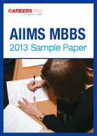 AIIMS MBBS 2013 Sample Paper