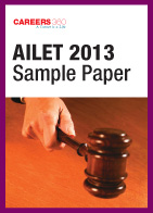 AILET 2013 Sample Paper