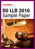 DU LLB Entrance Exam Question Paper 2010