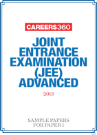 JEE Advanced 2013 Sample paper for Paper 1