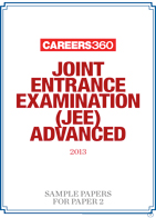 JEE Advanced 2013 Sample paper for Paper 2