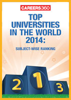 Top universities in the world 2014: Subject-wise