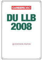 DU LLB 2008 Sample Paper