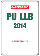 PU LLB 2014 Sample Paper