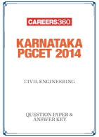 Karnataka PGCET 2014 Civil Engineering Question Paper & Answer Key