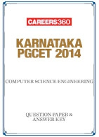 Karnataka PGCET 2014 Computer Science Engineering Question Paper & Answer Key
