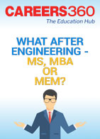 What after engineering - MS, MBA or MEM?