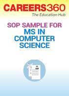 SOP Sample for MS in Computer Science