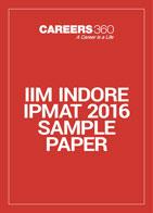 IIM Indore IPMAT 2016 Sample Paper