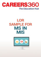 LOR sample for MS in MIS