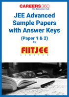 JEE Advanced Sample Papers 1 with Answer Keys (Paper 1 & 2) by FIITJEE