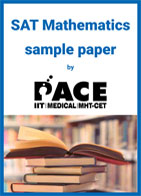 SAT Mathematics sample paper by PACE