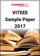 VITEEE Sample Paper 2017