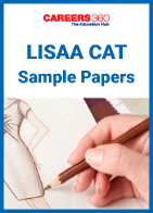 LISAA CAT Sample Papers
