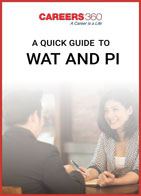 A Quick Guide to WAT and PI