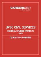UPSC Civil Services General Studies 2018 Sample Paper I