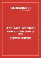 UPSC Civil Services General Studies 2018 Paper II