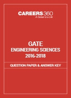 GATE 2016-2018 Engineering Sciences Question Paper and Answer Key