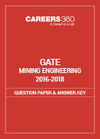 GATE 2016-2018 Mining Engineering Question Paper and Answer Key