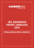 JEE Advanced 2018 Official Question Paper & Answer Key - Paper 1 (English)