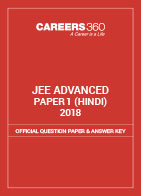 JEE Advanced 2018 Official Question Paper & Answer Key - Paper 1 (Hindi)