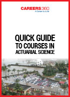 Careers360 Quick Guide to Actuarial Science