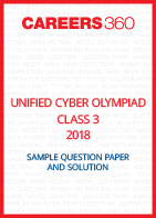 Unified Cyber Olympiad Sample Question Paper and Solution Class 3 2018
