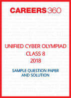 Unified Cyber Olympiad Sample Question Paper and Solution Class 8 2018