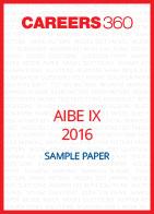 AIBE IX 2016 Sample Paper