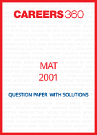 MAT 2001 Question Paper
