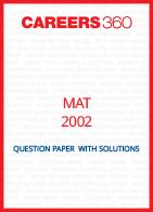 MAT 2002 Question Paper