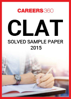 CLAT 2015 Solved Sample Paper