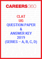 CLAT UG Question Paper and Answer Key 2019