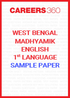 West Bengal Madhyamik English 1st Language Sample Paper