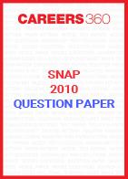 SNAP 2010 Question Paper