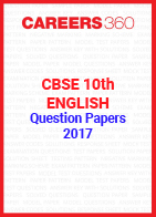 CBSE 10th English Question Papers 2017