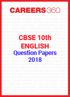 CBSE 10th English Question Papers 2018