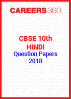 CBSE 10th Hindi Question Papers 2018