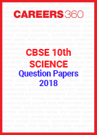 CBSE 10th Science Question Papers 2018
