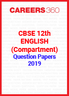 CBSE 12th English (Compartment) Question Papers 2019