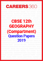 CBSE 12th Geography (Compartment) Question Papers 2019