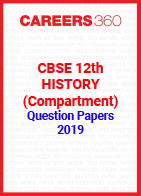 CBSE 12th History (Compartment) Question Papers 2019