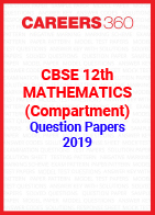 CBSE 12th Mathematics (Compartment) Question Papers 2019